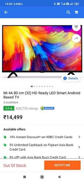 "Mi 4a 32"" Smart TV"