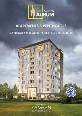 2 BED APARTMENT HEART OF LAHORE IN GULBERG 3 on 3 YEARS INSTALLMENT