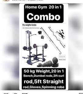 20 in 1 multi home gym exercise gym