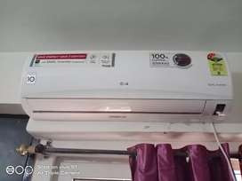 LG 1 ton dual inverter AC 7 months old