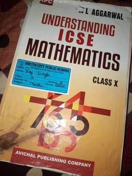 ICSE class 10 ML Agarwal maths book 2019-20