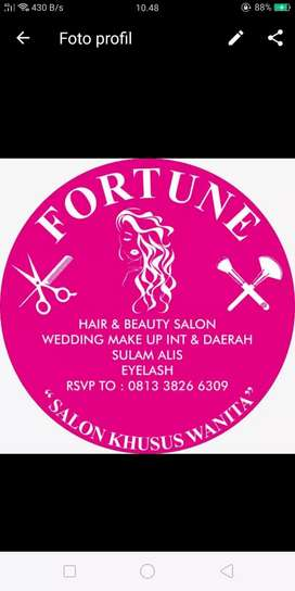 Lowongan Hair stylist Salon Wanita