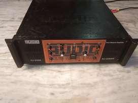 Amplifier dual channel 2500 Watt