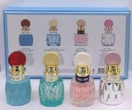 Miu Miu gift set parfum travel 4in1