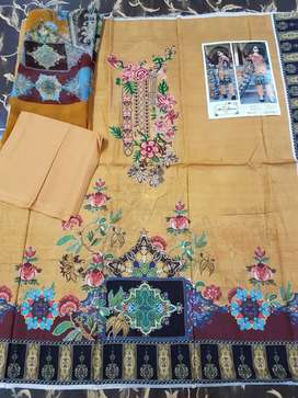 3Piece unstiched print lawn eid collection