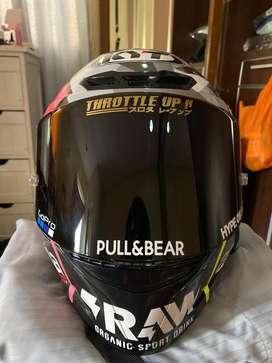 KYT TT Course Repaint + Intercom BT S3 + Spoiler