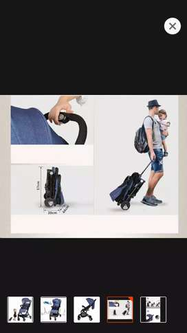 stroller with airport mode - Used