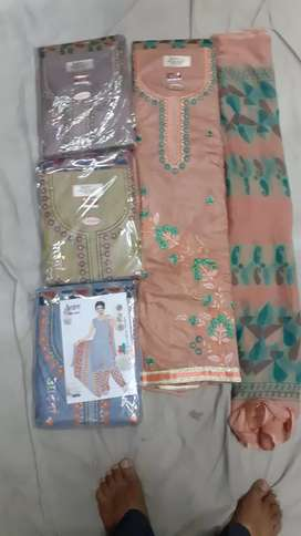 Summer cotton designer suits
