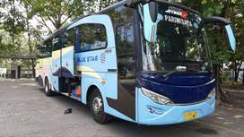 Rental Bus Jogja siap jemput lokasi paket wisata hitz sewa mobil bagus