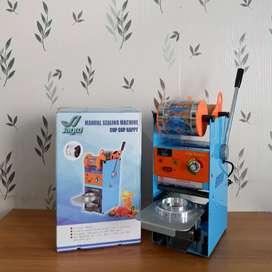 Cup Sealer Manual Jagoo SC-D8 + Plastik roll