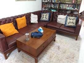 Sofa L full jati kualitas super. Dari jepara asli kuat