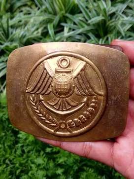 Buckle marines, bahan kuningan..