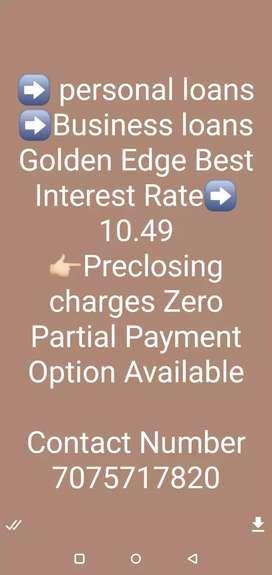 Personal loan business loan