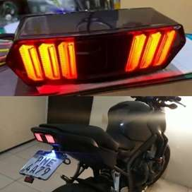 Mustang style led backlight universal