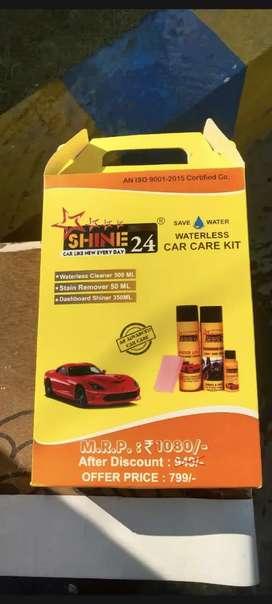 Instant car wash kit