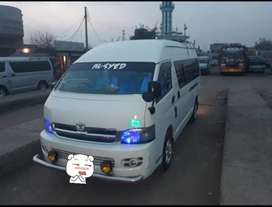 Toyota Grand Cabin Highroof 18 seater 2016 registered