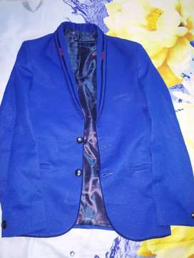 Blazer ;blue color