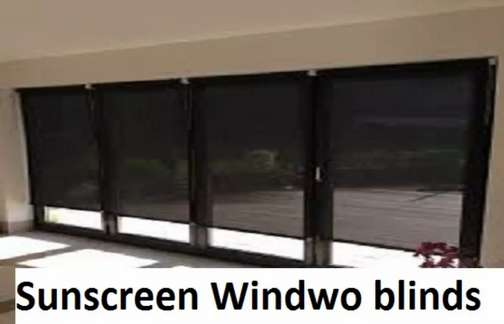 Window blinds interior ceiling remote control blinds