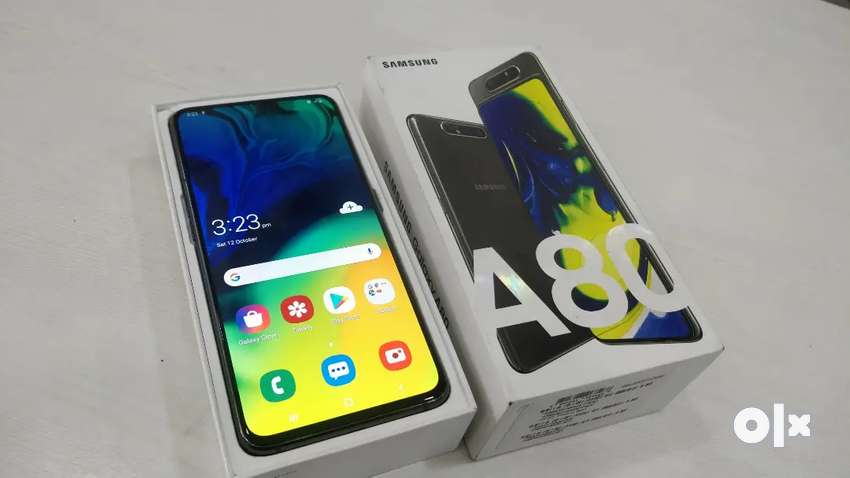Samsung A80 8 Gb Ram 128 Gb 6 Months Old with Bill Box and Full Kit 0
