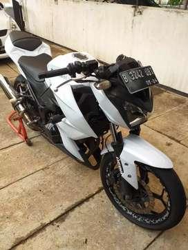 Moge Kawasaki Ninja Z250 Naked Bike, full modifikasi
