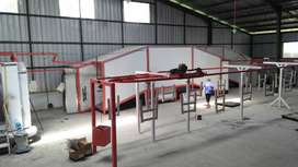 Conveyor Powder Coating Line