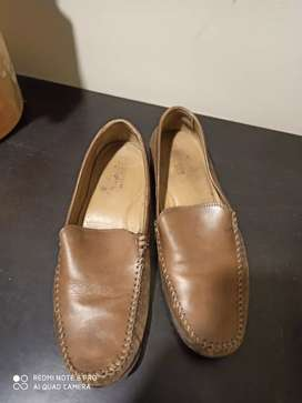 Brown colour loafers