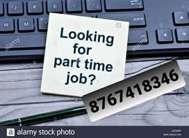 12th pass student required for part time jobs