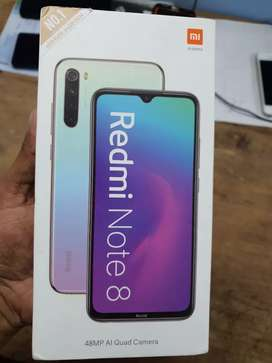 Redmi note 8 sealed pack