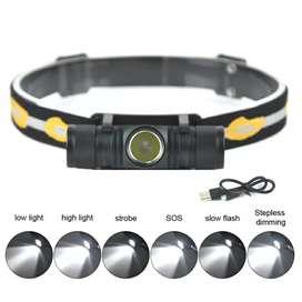 BORUIT Senter Kepala Headlamp Flashlight Headlight LED XML L2