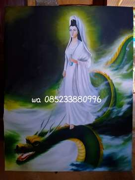 Lukisan Dewi Kwan im