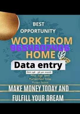 Mega opening for back office data entry for MNC Company. Apply now