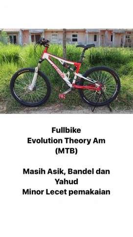 Bismillah, Di jual Fullbike Evolution Theory Am (MTB), Nego sampe jadi