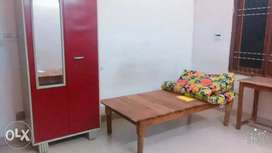 Girls pg available with full furnished rooms,kitchen,maid,24 hrs water