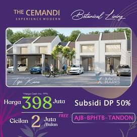 RUMAH THE CEMANDI 1 LANTAI, DEKAT OERR, JUANDA