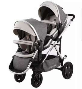 BABY ELLE STROLER DUO EVO FOR TWINS
