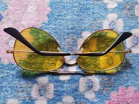 Aviator yellow candy sunglasses(UNUSED)