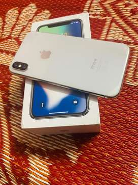 Iphone X White Colour box+Charger 97000 final