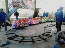 mainan kuda genjot kereta rel bawah mini roller coaster odong 11