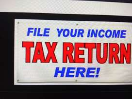 Income tax return filing, New / Changes in Pan Card, GST returns