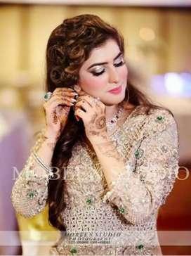 Bridal HD Makeups 5000rs