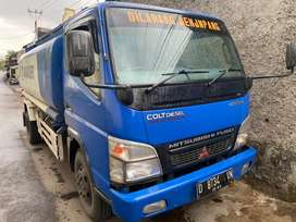 Truck Mitsubishi Colt Diesel Canter Tanki 8000 FE 74 HDV 2013 ISTIMEWA