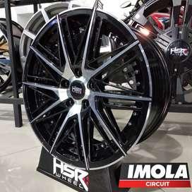 Peleg Racing mobil xpander Ring 18 HSR BALIGE Lobang 5x114,3 Hitam