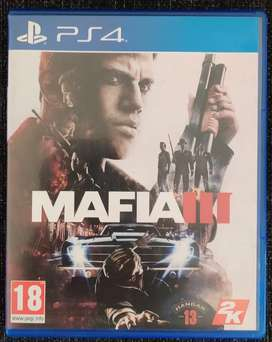 Spiderman & Mafia 3 PS4 CD for Sale or Exchange