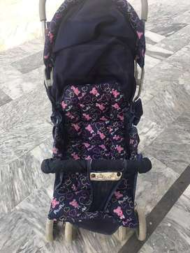 Stroller and bath seat