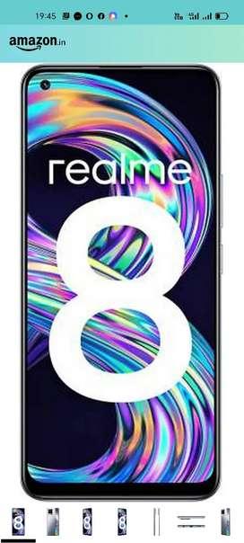 Realme 8 salling