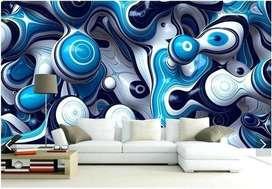Best Designs 3D Wallpapers at best rate - Rs. 70 per sqft