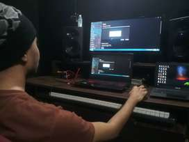 Studio Table (home recording setup studio table ) good condition