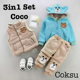 set 3in1 coco kids 3 warna