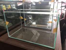 Ready stock aquarium 40x25x25