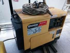 Genset 5k Diesel kapasitas 5000 watt jual Murah